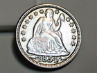 1854 Year Seated Liberty Dimes (1837-1891)