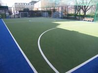 Play 5 a side football every Wednesday in Kings Cross, Central London