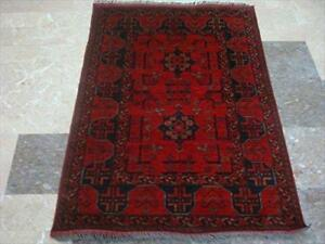 Afghan Khal Muhamadi Exclusive Area Rug Hand Knotted Wool Carpet (4.8 x 3.4)'