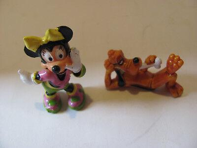Ü – Ei  Figuren Minnie  + Pluto aus Micky und seine tollen Freunde 1989