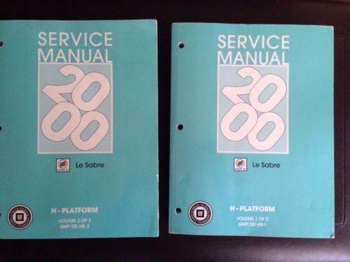2000 buick lesabre service manual ebay. Black Bedroom Furniture Sets. Home Design Ideas