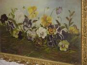 Pansy Oil Painting