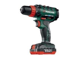 Cordless Drill Driver Power Tool DIY Handy Woodwork Carpenter Garage Heavy Duty Charger Bits Hammer