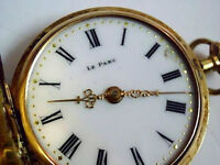 RARE SWISS MADE AUTHENTIC PARC WINDING UNISEX POCKET WATCH