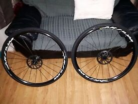 Mavic Aksium Disc Wheelset 11 Speed Shimano Mint, As New Road Cyclocross CX Gravel