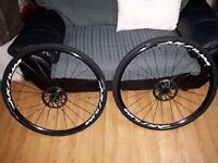 Mavic Aksium Disc Wheelset 11 Speed Shimano Mint, As New Road Cyclocross CX Gravel