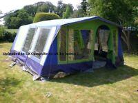 Sunncamp Palace Frame Tent - sleeps 6+