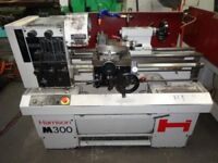 HARRISON M300 GAP BED CENTRE LATHE YEAR 1995