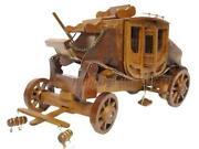 Wooden Stagecoach