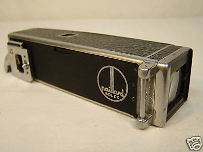 """OCTOMETER VIEWFINDER BOLEX H16 16mm MOVIE CAMERA """"You clean as needed"""" Dust,haze"""