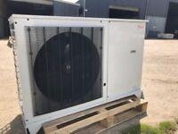 Danfoss Optima refrigeration cold store unit with GEA Evaporator