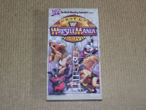 WWF BEST OF WRESTLEMANIA 1 - 14, VHS, EXCELLENT CONDITION, WWE