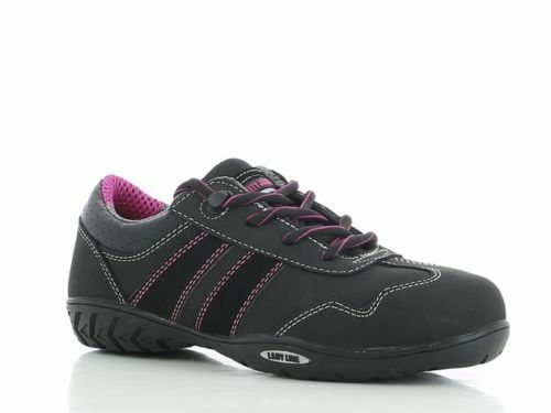Women Work Shoes Safety Jogger Steel Toe Ceres Low Top Black
