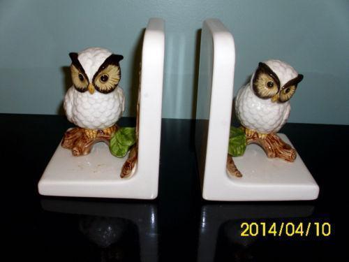 Vintage Ceramic Bookends Ebay