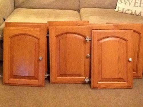 Oak Kitchen Cupboards Ebay