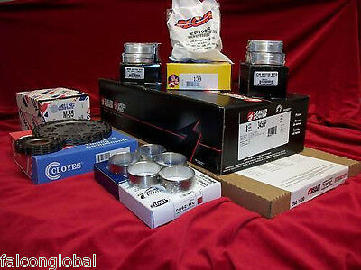 Ford 6.0 Powerstroke Diesel MASTER Engine Kit Pistons+Rings+Lifters+Bearings 03