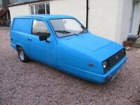 Reliant Rialto Van only 41,000 miles current MOT £1175 ono