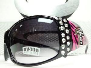 d5841c7605 Rhinestone Cross Sunglasses