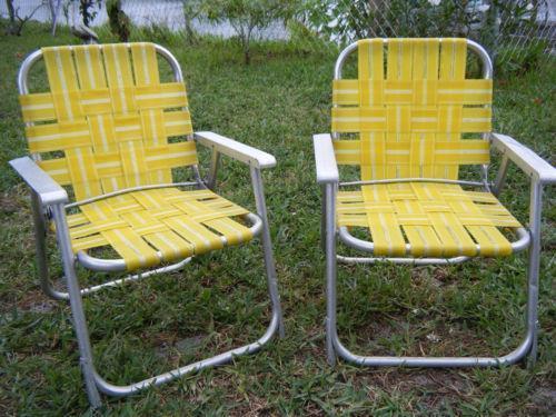 Aluminum Chair Webbing Ebay