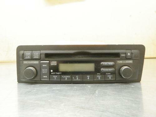 2004 honda civic radio ebay