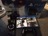 CHEAP AND FAST SALE@@@ Playstation 4 Bundle with 2 Games, Headset and Original Box