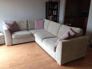Used Fabric Corner Sofa