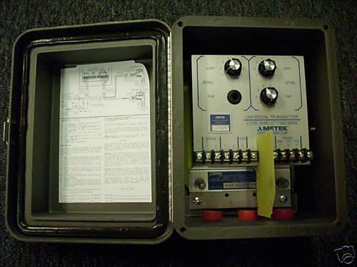 AMETEK 408-6230-F0-10 LEVEL TRANSMITTER BOX-MOUNTED NEW CONDITION