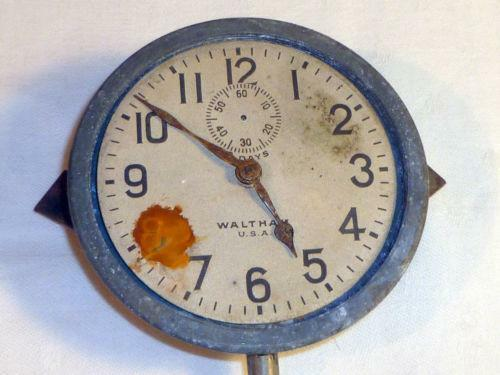Antique Automobile Clock Ebay