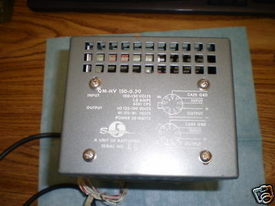 Sorensen Model Qm-hv 150-0.20 Power Supply