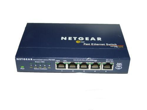Netgear Ethernet Switch Ebay