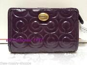 Coach Purple Patent Wallet
