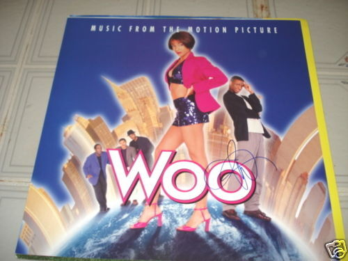 Tommy Davidson WOO Movie Signed LP Promo Poster Photo