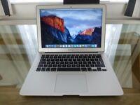 "Apple MacBook Air 13.3"" Laptop - 256GB SSD, 4GB RAM, Intel Core i5, Thunderbolt, Intel HD, A1369"