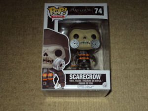 FUNKO, POP, SCARECROW, VAULTED, BATMAN ARKHAM KNIGHT, FIGURE