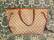 Louis Vuittons Handbags Damier Azur