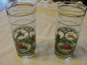Vintage Car Drinking Glasses