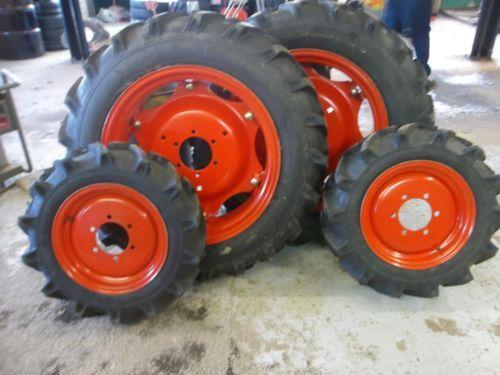 Compact Tractor Tires And Wheels : Kubota tractor tires ebay