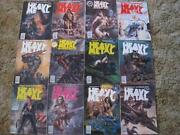 Heavy Metal Magazine Lot