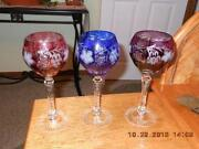 Colored Wine Goblets