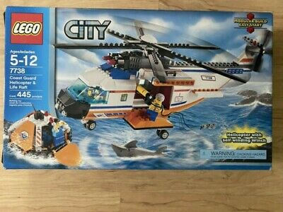 Lego City Coast Guard Helicopter and Life Raft (7738)