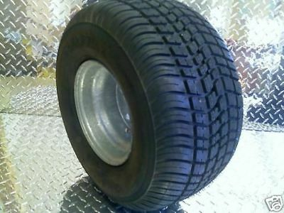 "8"" GALVANIZED Trailer Rim Tire Wheel Assem Golf Cart EZGO 4H 3H300  215/60-8"