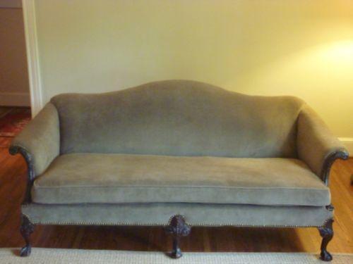 Camelback Sofa Ebay