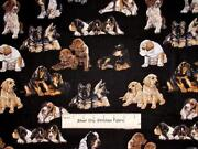 Puppy Dog Fabric