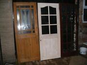 Reclaimed Glazed Pine Doors