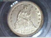 1874 Seated Liberty Quarter