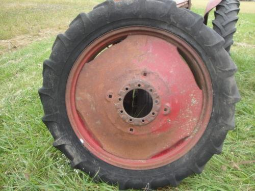 International 275 Tractor Wheels Rims Used : Farmall tractor rims ebay