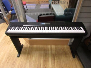 Casio Piano CDP220R + Stand + Pedal (88 weighted keys)