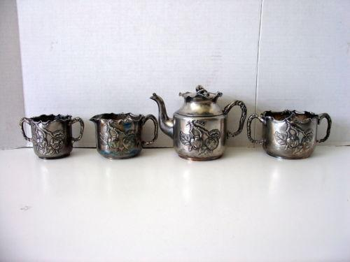 Silver Co Quadruple Plate Ebay