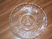 1937 Coronation Glass
