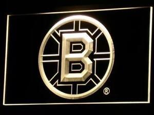 Boston Bruins LED Neon Light Sign (New) Calgary Alberta Preview